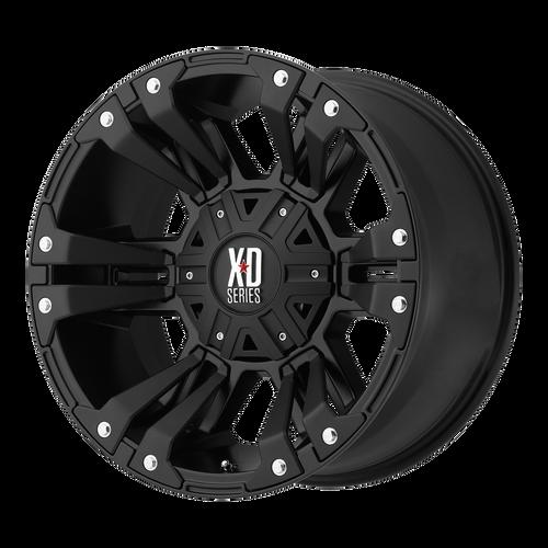 20x9 5x5.5/5x150 5BS XD822 Monster 2 Matte Black - XD Wheels