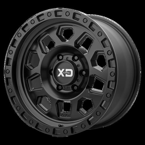 17x8 6x4.5 5.48BS XD132 RG2 Satin Black - XD Wheels