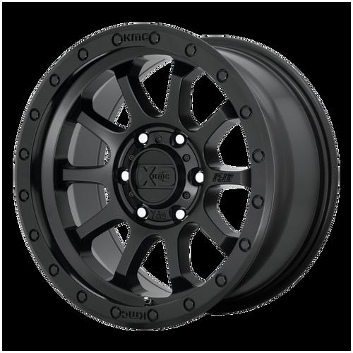 18x9 6x135 5.71BS XD143 RG3 Satin Black - XD Wheels