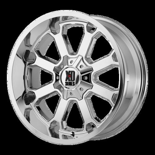 22x10 6x5.5/6x135 4.79BS XD825 Buck 25 Chrome - XD Wheels