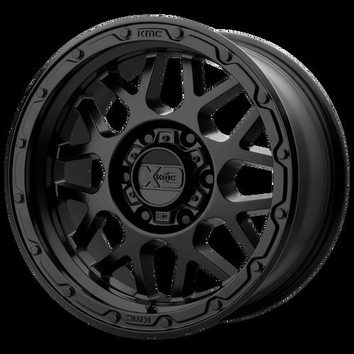 16x8 6x5.5 4.26BS XD135 Grenade OR Matte Black - XD Wheels