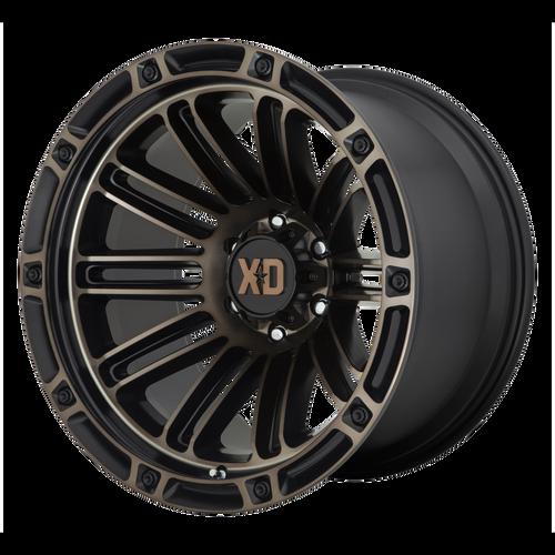 20x12 6x5.5 4.77BS XD846 Double Satin Black With Dark Tint - XD Wheels