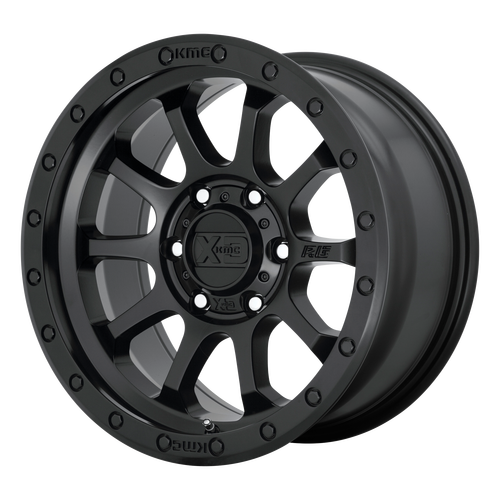 18x9 8x6.5 5BS XD143 RG3 Satin Black - XD Wheels