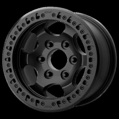 17x8.5 8x6.5 4.75BS XD231 Race Satin Black - XD Wheels