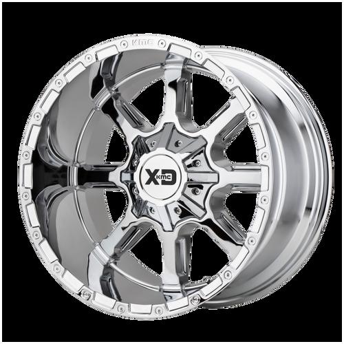 22x12 8x170 4.77BS XD838 Mammoth Chrome - XD Wheels