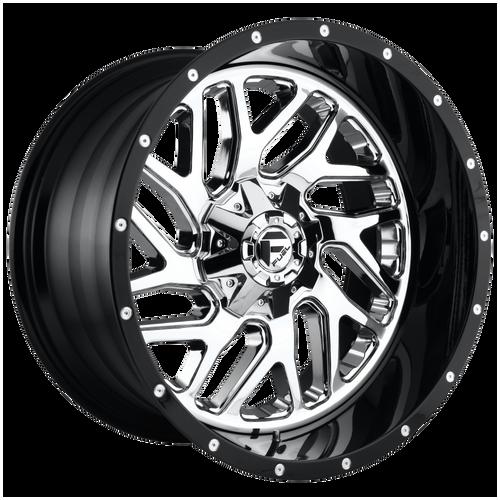 20x10 8x6.5 4.75BS D211 Triton Black - Fuel Off-Road