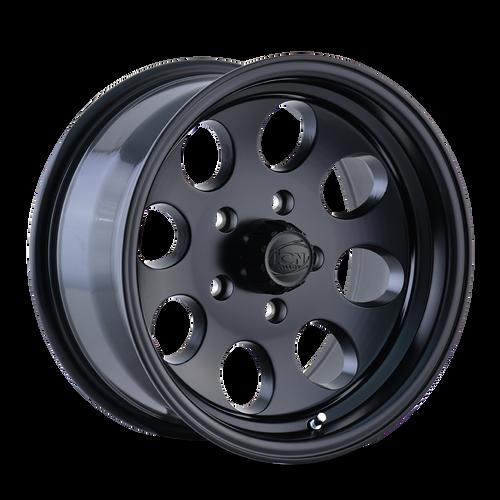 18x9 5x5 5BS Type 171 Matte Black - Ion Wheel