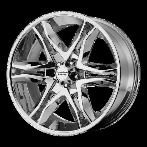 18x8.5 6x135 5.93BS AR893 Mainline Chrome - American Racing