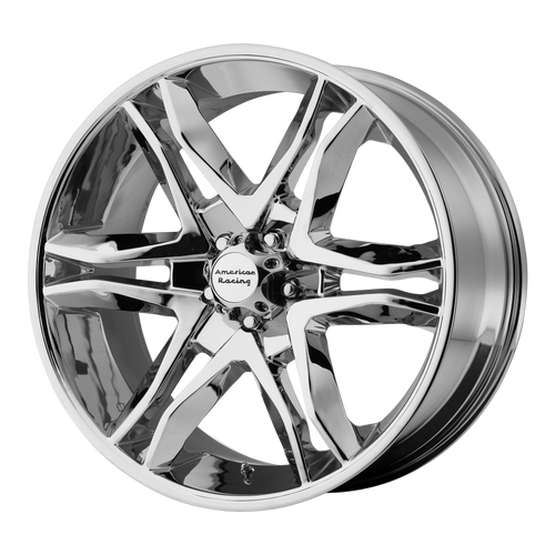 18x8.5 6x5.5 5.93BS AR893 Mainline Chrome - American Racing