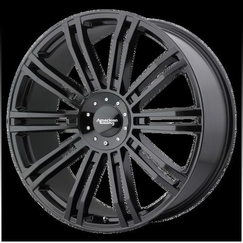 22x9.5 6x5.5/6x135 6.63BS D2 Gloss Black - American Racing