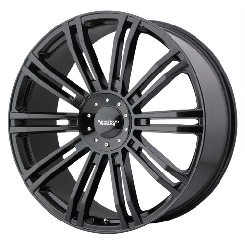 20x8.5 6x5.5/6x135 6.13BS D2 Gloss Black - American Racing