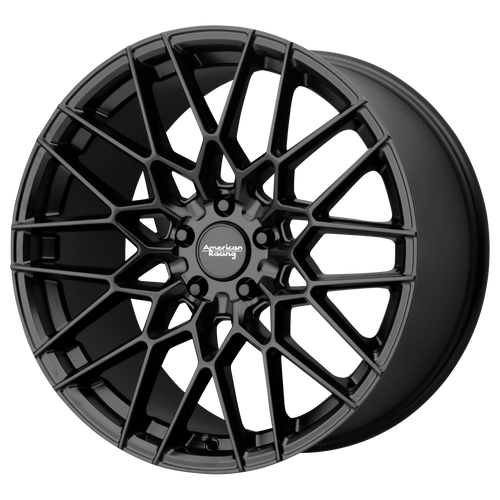 20x10.5 5x4.5 7.52BS AR927 Barrage Satin Black - American Racing