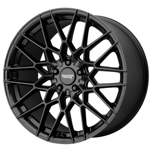 20x10.5 5x4.75 7.32BS AR927 Barrage Satin Black - American Racing
