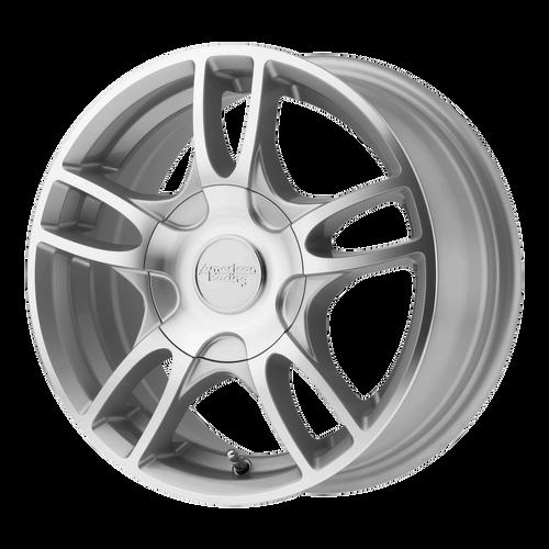 17x17.5 5x4.5 6.02BS AR919 Estrella 2 Silver Machined - American Racing