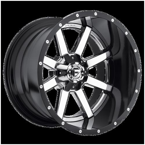 24x12 8x6.5 4.77BS D260 Maverick Chrome Plated - Fuel Off-Road