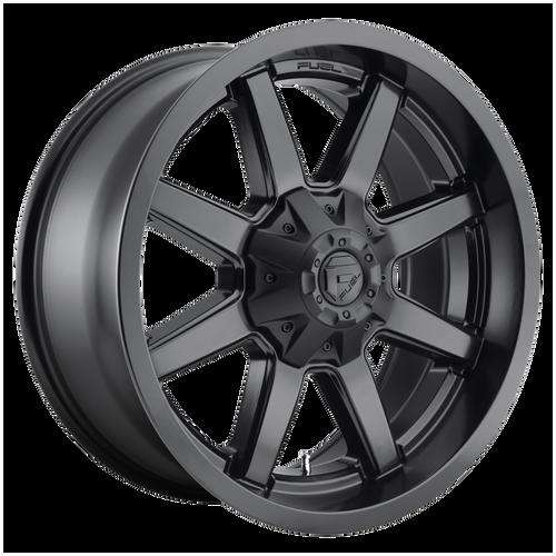 18x9 6x5.5/6x135 4.53BS D436 Maverick Satin Black - Fuel Off-Road