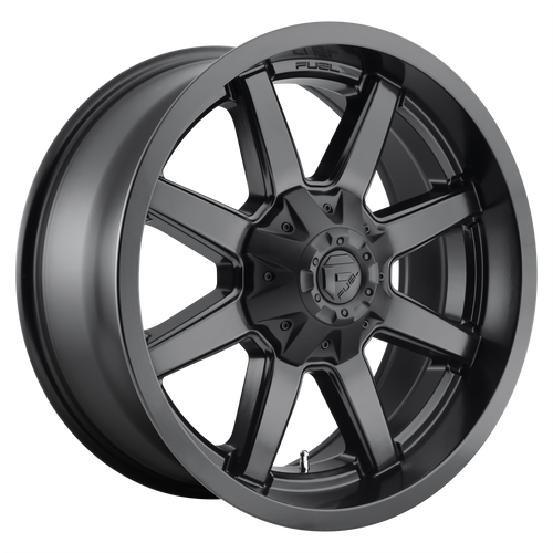 22x12 6x5.5/6x135 4.77BS D436 Maverick Satin Black - Fuel Off-Road