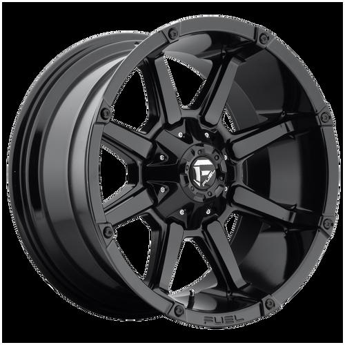 20x9 6x5.5 5.75BS D575 Coupler Gloss Black - Fuel Off-Road
