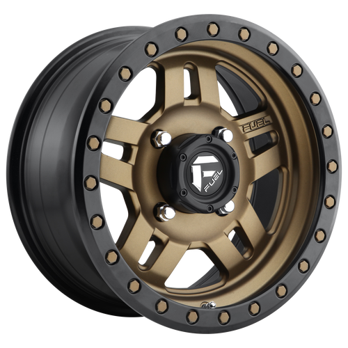 18x9 6x5.5 5.75BS D583 Anza Matte Bronze Black Bead Ring - Fuel Off-Road