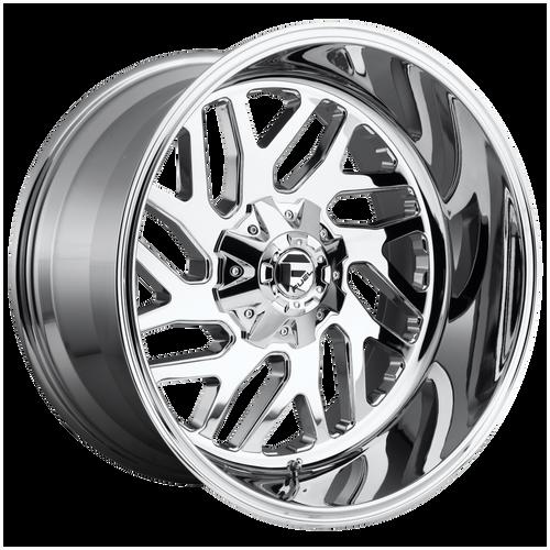 22x12 6x5.5/6x135 4.77BS D609 Triton Chrome Plated - Fuel Off-Road