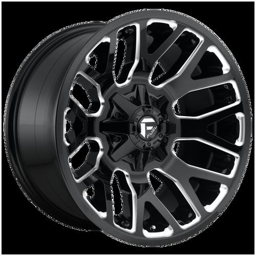 20x9 6x5.5/6x135 5.04BS D623 Warrior Gloss Black - Fuel Off-Road