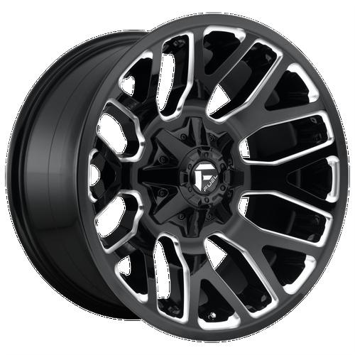 20x9 6x5.5/6x135 5.79BS D623 Warrior Gloss Black - Fuel Off-Road