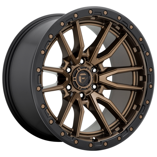 17x9 5x150 5.04BS D681 Rebel Matte Bronze Black - Fuel Off-Road