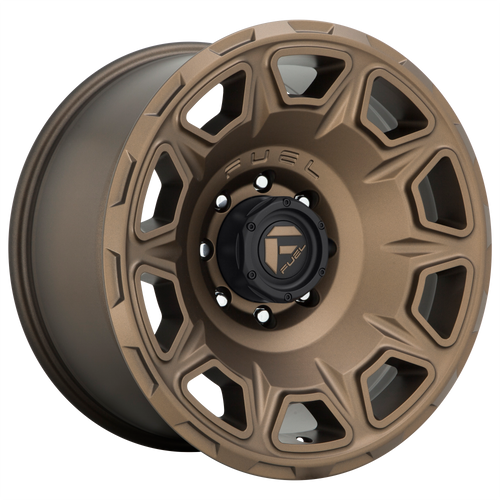 20x10 8x180 4.79BS D687 Vengance Matte Bronze - Fuel Off-Road