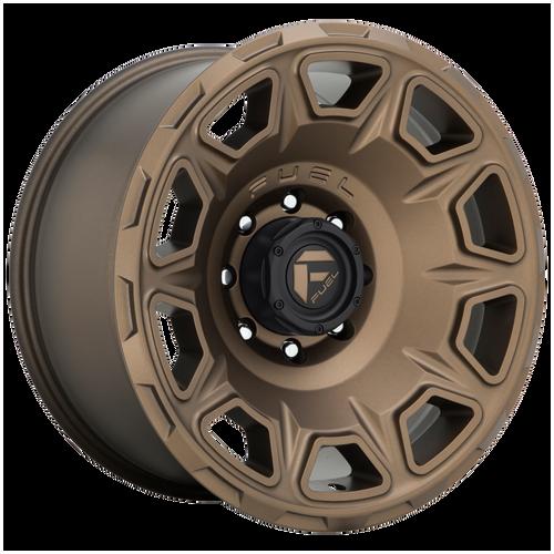 20x10 6x135 4.79BS D687 Vengance Matte Bronze - Fuel Off-Road