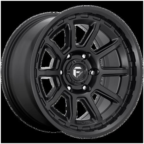 18x9 6x5.5 5.04BS D689 Torque Matte Black - Fuel Off-Road