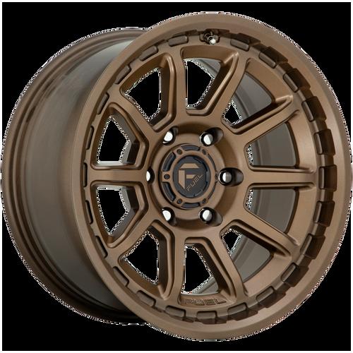 20x9 6x135 5.04BS D690 Torque Matte Bronze - Fuel Off-Road