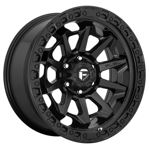 20x10 8x170 4.79BS D694 Covert Matte Black - Fuel Off-Road