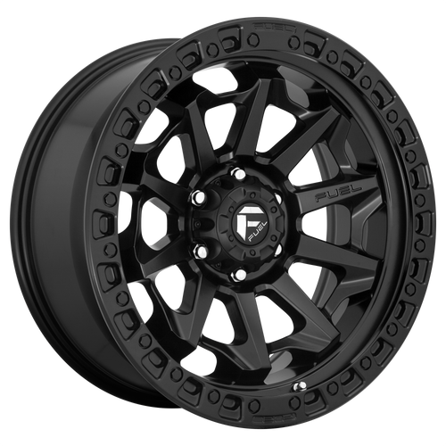 20x10 8x6.5 4.79BS D694 Covert Matte Black - Fuel Off-Road