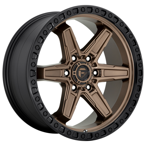 18x9 6x5.5 5.04BS D699 Kicker Matte Bronze Black Bead Ring - Fuel Off-Road