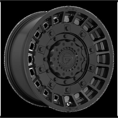 17x9 6x5.5/6x135 4.53BS D723 Militia Matte Black - Fuel Off-Road