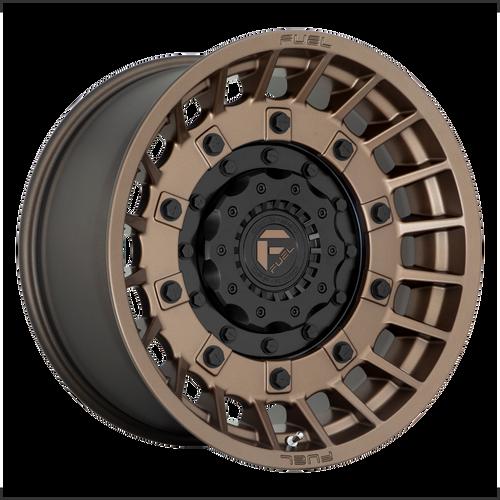 20x10 8x170 4.79BS D725 Militia Matte Bronze - Fuel Off-Road