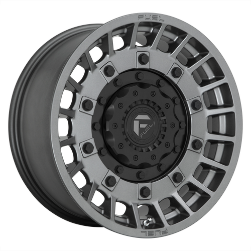 20x10 8x170 4.79BS D726 Militia Matte Anthracite - Fuel Off-Road