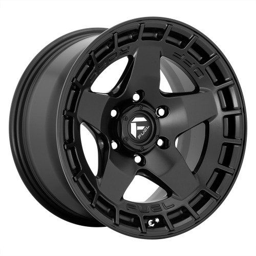 17x9 5x5 5.04BS D733 Warp Satin Black - Fuel Off-Road