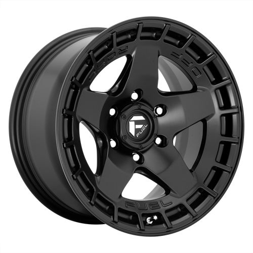 17x9 6x135 5.04BS D733 Warp Satin Black - Fuel Off-Road