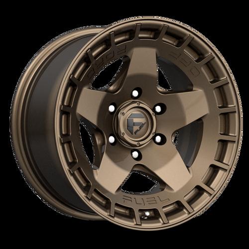 20x9 6x5.5 5.04BS D735 Warp Matte Bronze - Fuel Off-Road