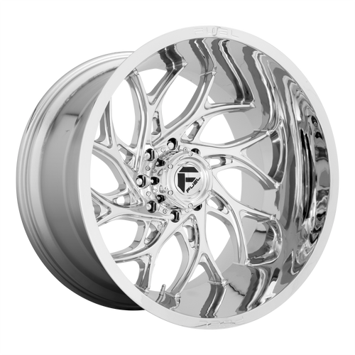 20x10 8x6.5 4.79BS D740 Runner Chrome - Fuel Off-Road