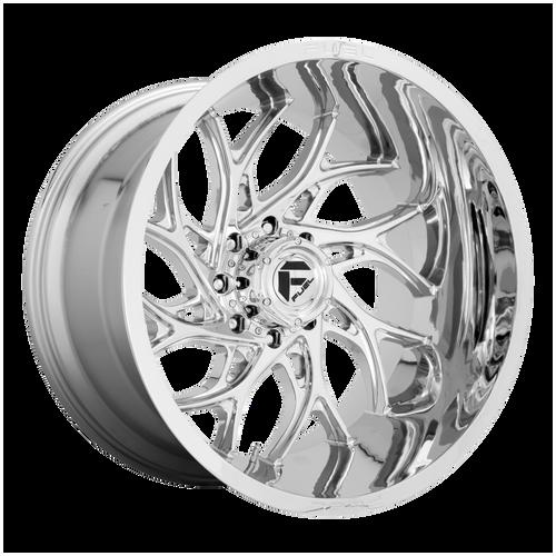 26x14 8x180 4.55BS D740 Runner Chrome - Fuel Off-Road