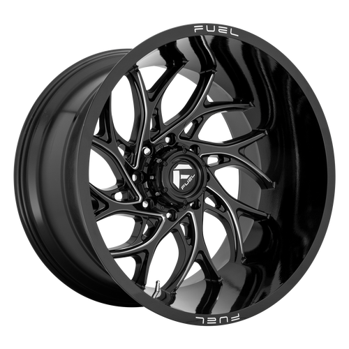 20x10 5x5.5 4.79BS D741 Runner Gloss Black - Fuel Off-Road