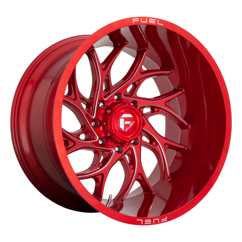 22x12 8x6.5 4.77BS D742 Runner Candy Red - Fuel Off-Road
