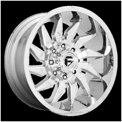 20x9 6x135 5.79BS D743 Saber Chrome - Fuel Off-Road