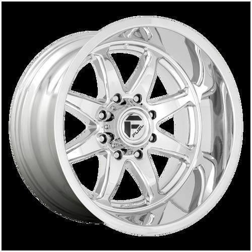 22x10 8x6.5 4.79BS D748 Hammer Chrome - Fuel Off-Road