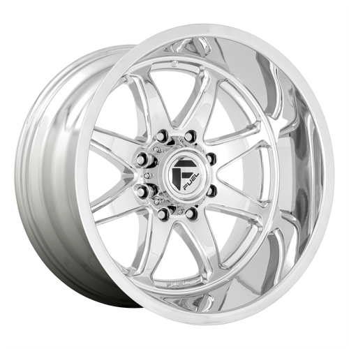 22x10 6x135 4.79BS D748 Hammer Chrome - Fuel Off-Road