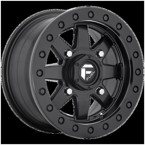 14x7 4x137 5.5BS D936 Maverick Matte Black - Fuel Off-Road
