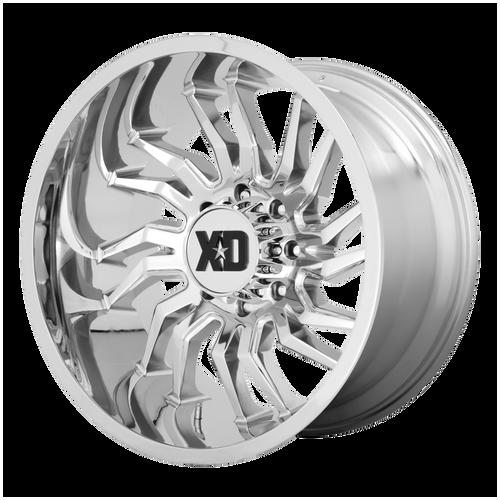 22x10 8x6.5 4.79BS XD858 Tension Chrome - XD Wheels