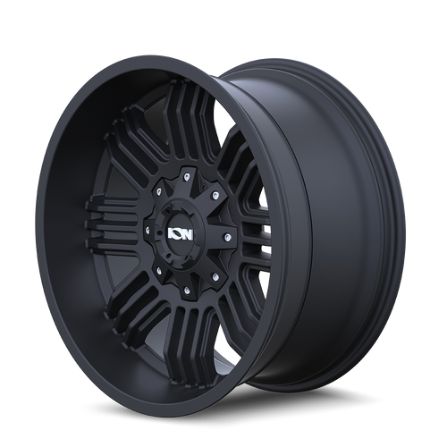 20x10 8x170 4.75BS Type 144 Matte Black - Ion Wheel